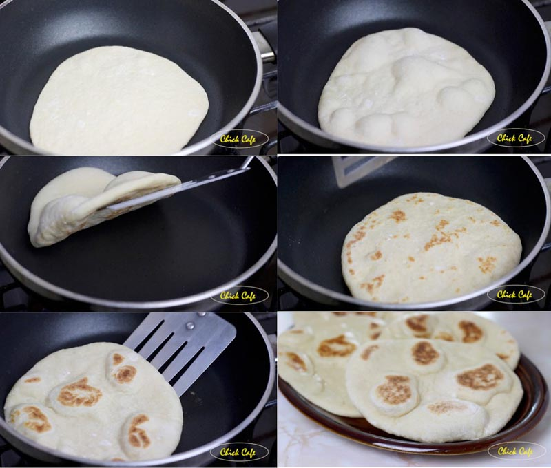Naan Bread  (ขนมปังนาน)